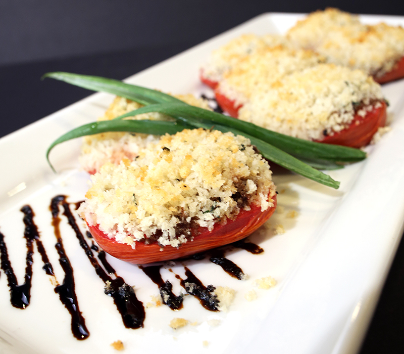 Balsamic Baked Tomatoes