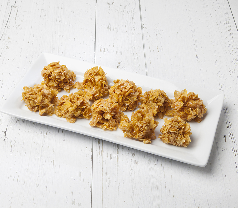 CHEWY NO-BAKE CEREAL COOKIES