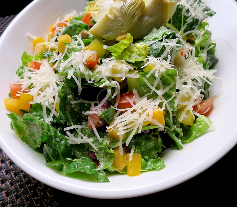Romaine And Artichoke Salad